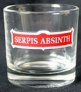 ABSINTHE GLASS SERPIS small