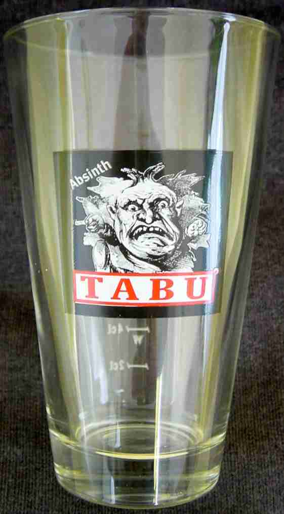 ABSINTHE GLASS TABU LONG
