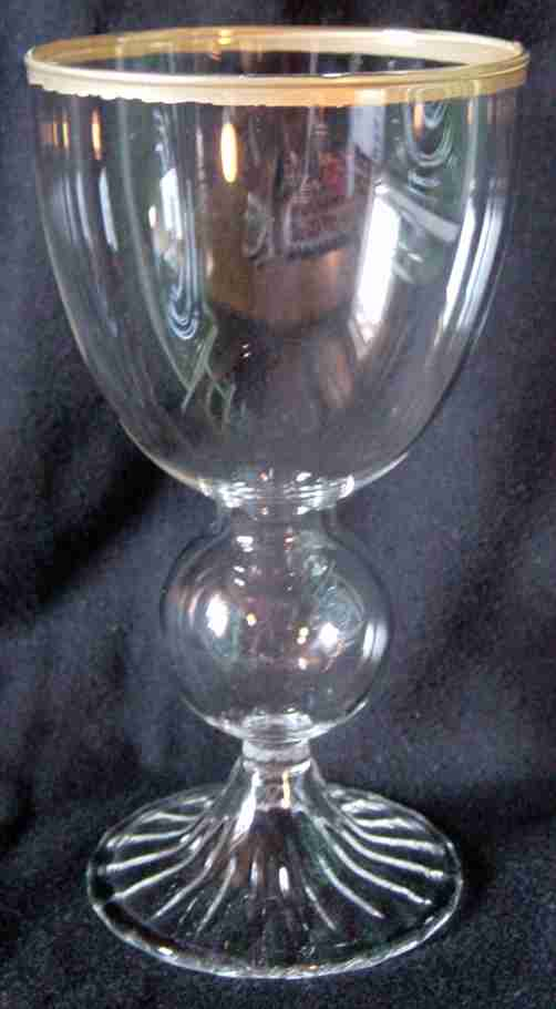 ABSINTHE GLASS GOLD